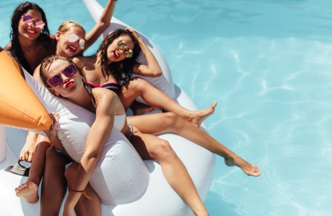 Viaggiare con sole amiche donne è sempre più di tendenza