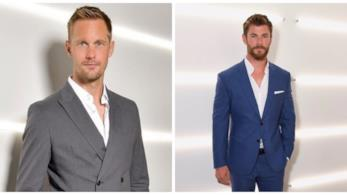 Chris Hemsworth & Alexander Skarsgård per Hugo Boss