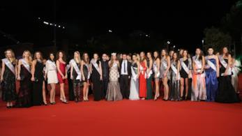 Vecchio Red carpet Miss Italia