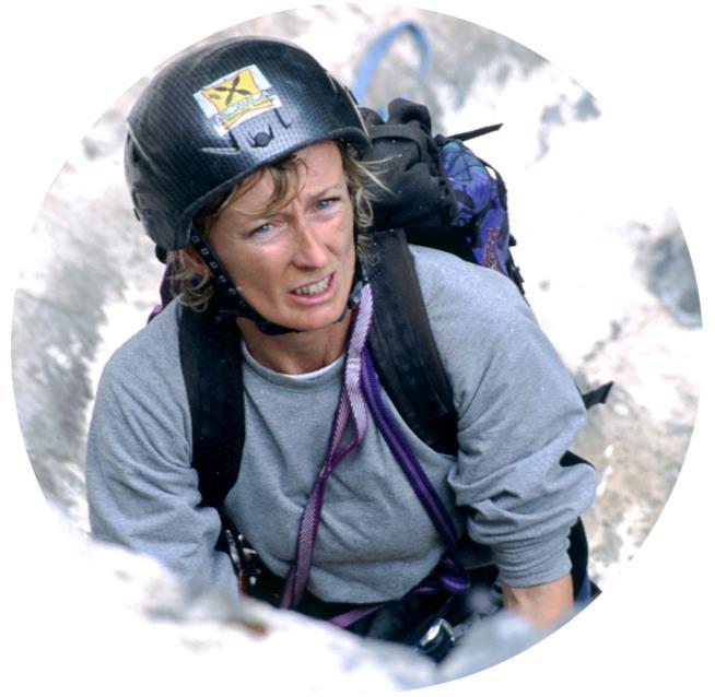 L'alpinista Nives Meroi
