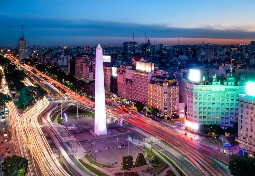 L'Obelisco di Plaza de la Republica