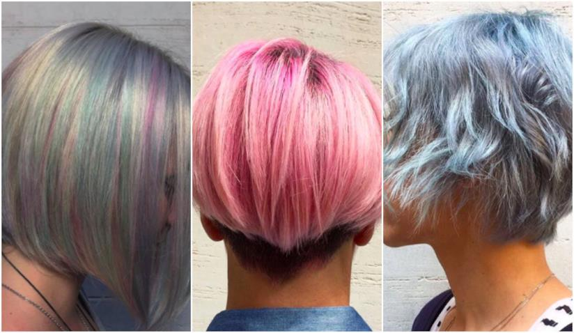 Spray colorato capelli