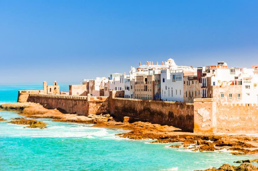Vista di Essaouira