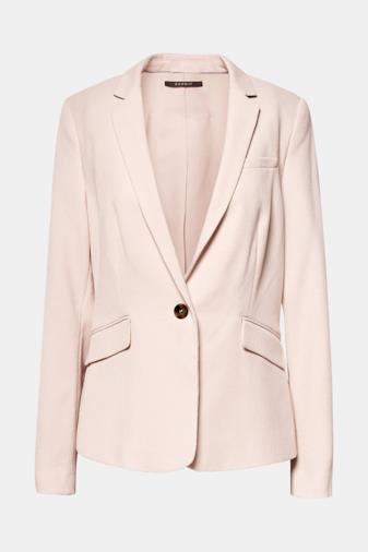 Blazer rosa chiaro