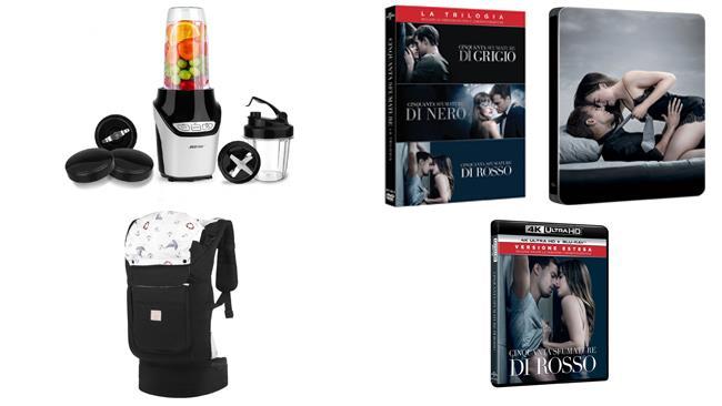 Amazon: le offerte super della settimana su Home Video, bimbi e cucina
