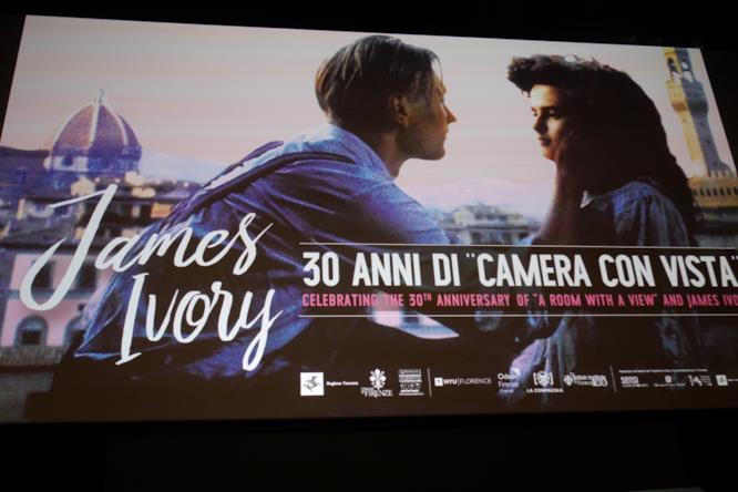Camera con vista sul grande schermo a Firenze