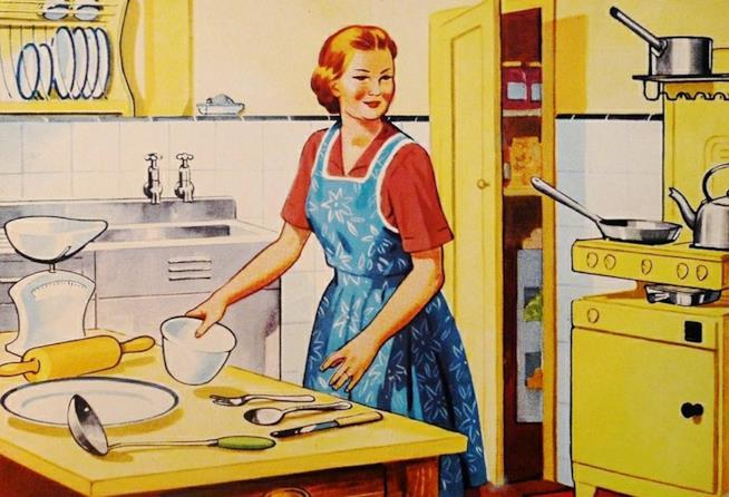 lavoro delle casalinghe