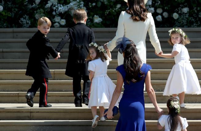 Il corteo del matrimonio di Harry e Meghan