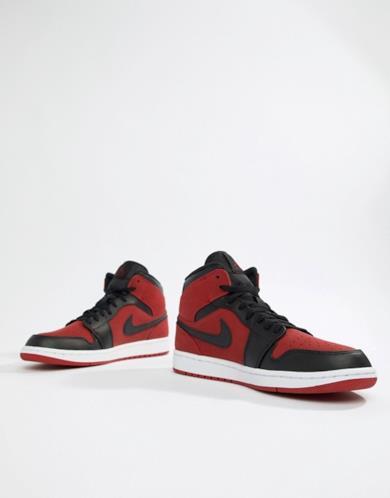 Air Jordan 1 - Sneakers alte rosse