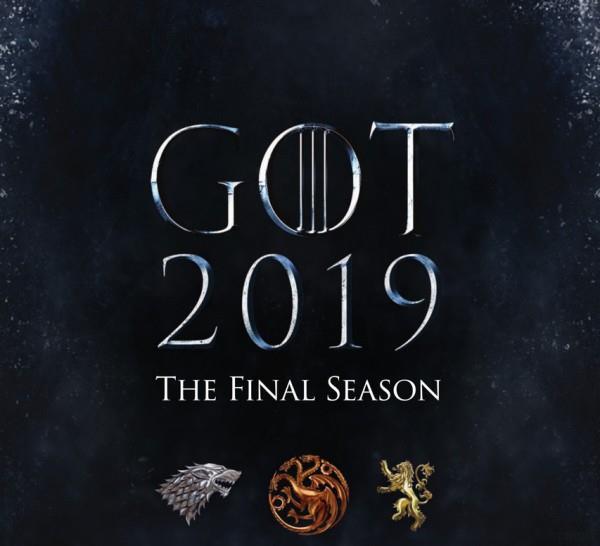 teaser poster della stagione finale di Game of Thrones