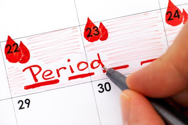 calendario ciclo mestruale