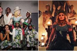 Alcuni scatti del compleanno di Madonna