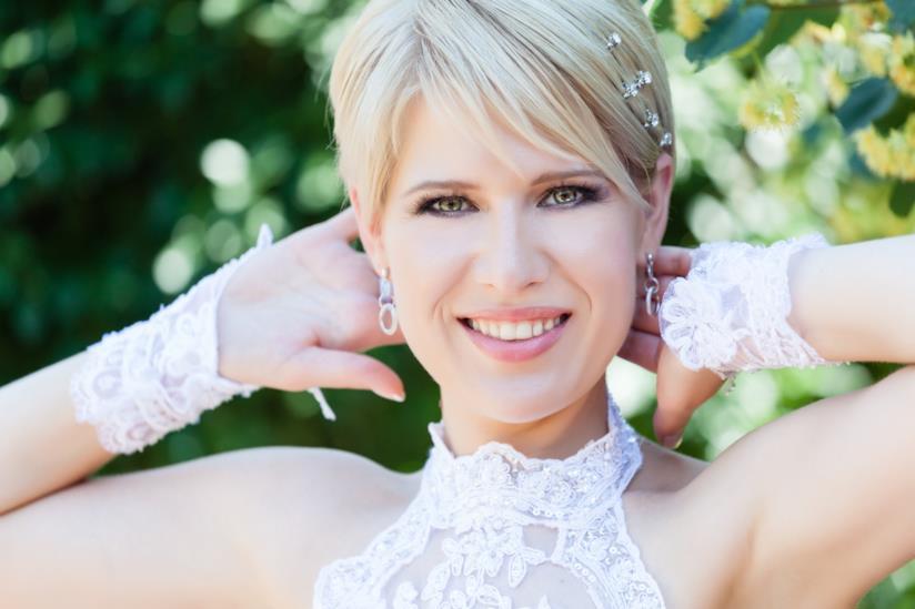 Taglio super corto per le spose