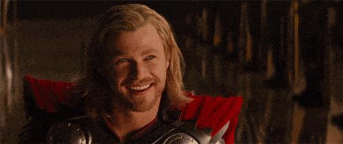 Una scena di Thor