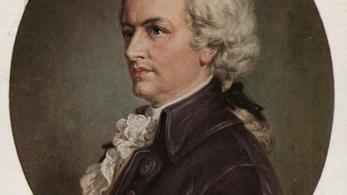 Ritratto del compositore Wolfgang Amadeus Mozart