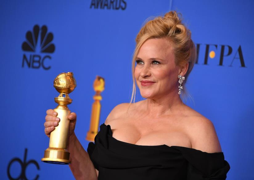 Patricia Arquette ai Golden Globes