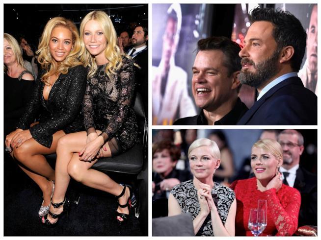 Tutti i vip di Hollywood che sono veri amici
