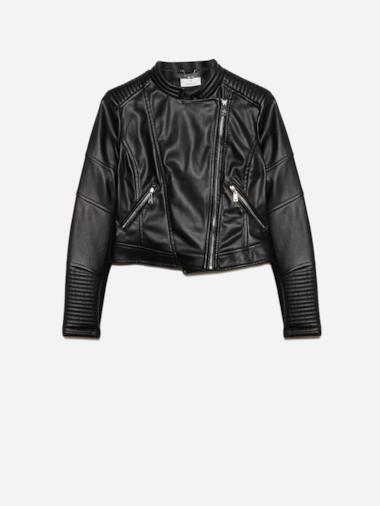 Leather jacket di Motivi