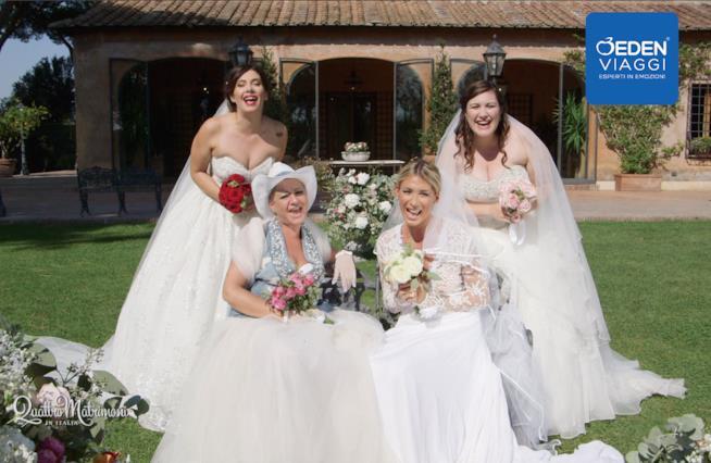 Quattro Matrimoni in Italia, ecco le agguerrite spose del primo episodio della nuova stagione