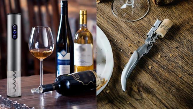 Cavatappi per il vino