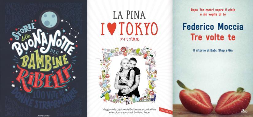 e923c7fedf81 Le copertine di Storie della Buonanotte per Bambine Ribelli, I love Tokyo e  Tre Volte