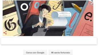 Il doodle di google ispirato a Clare Hollingworth