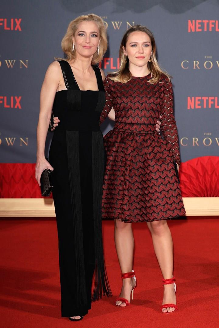 Gillian Anderson e Piper Maru Klotz