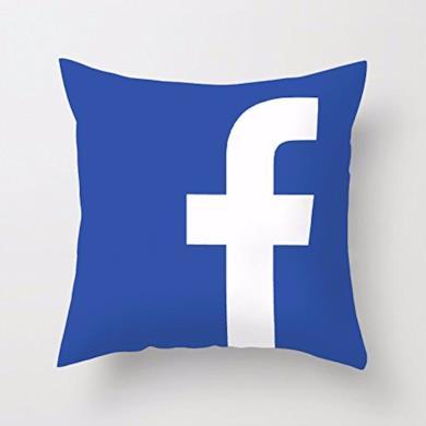 Copertura per cuscino Facebook