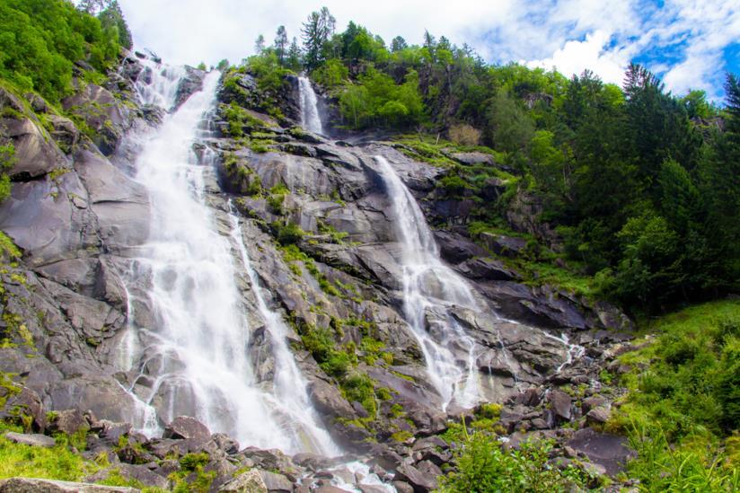 Viaggi senza auto in Trentino, nel parco naturale Adamello Brenta