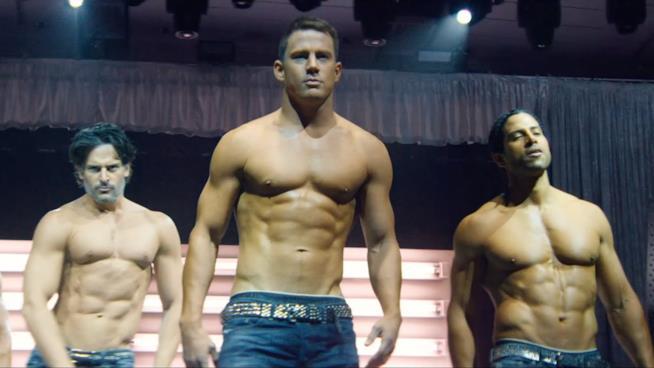 Una immagine del film Magic Mike, la storia di un gruppo di stripper molto apprezzati