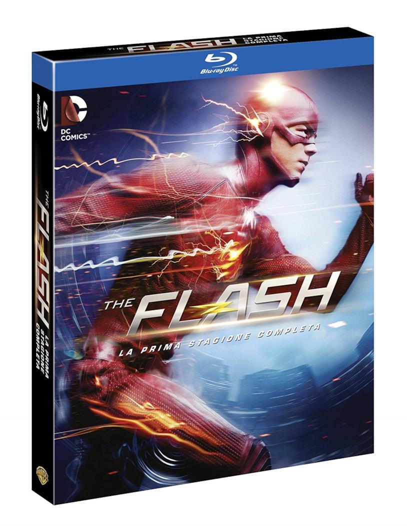Cofanetto Blu-ray di The Flash - Stagione 1