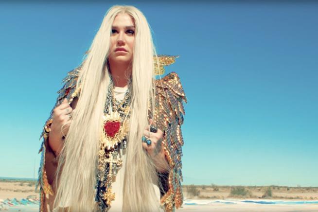 Kesha nel suo ultimo lavoro