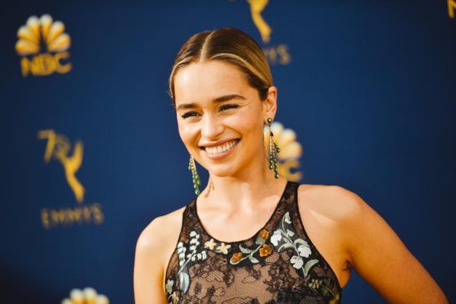 L'attrice Emilia Clarke