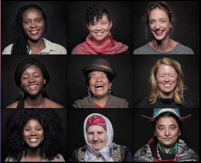 Immagine tratta dal documentario Woman