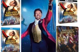 Versioni Home Video di The Greatest Showman