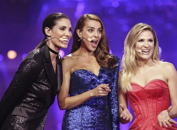Le conduttrici dell'Eurovision Song Contest 2018
