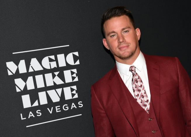 L'attore Channing Tatum protagonista di Magic Mike e Logan Lucky