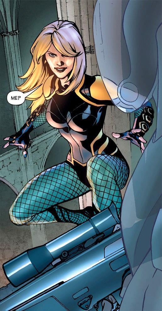La Black Canary dei fumetti