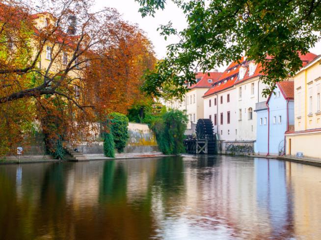 L'Isola di Kampa a Praga