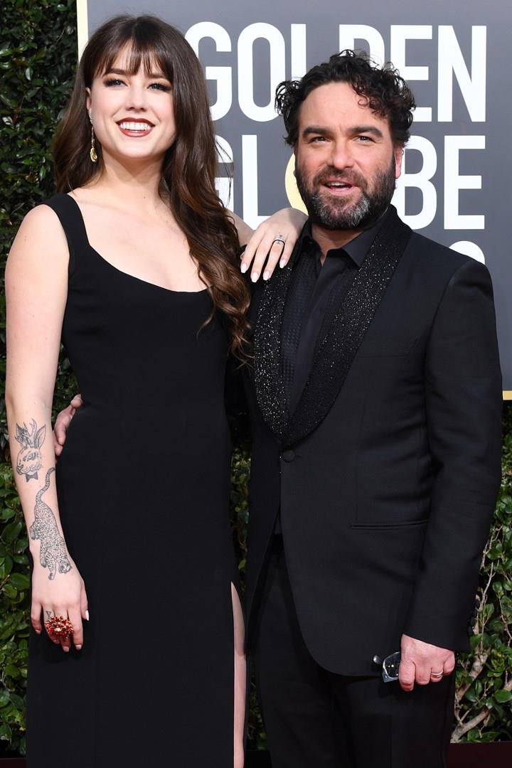 Johnny Galecki e Alaina Meyer
