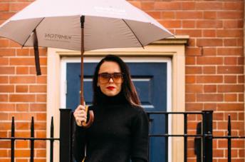 Outfit pioggia dallo Street Style New York A/I 2019