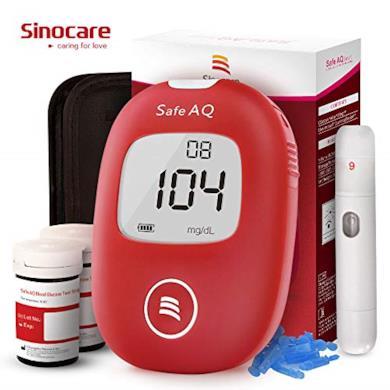 Kit di monitoraggio dello zucchero con 50 strisce