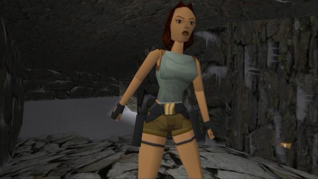 La prima Lara Croft