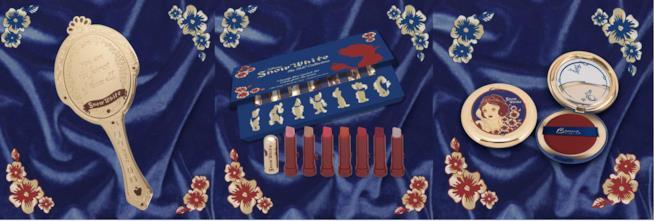 La collezione di accessori make- dedicata agli 80 anni di Biancaneve