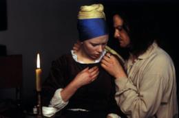 Una scena tratta da La ragazza con l'orecchino di perla