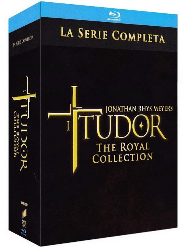 Cofanetto Blu-ray de I Tudors - Stagioni 1-4