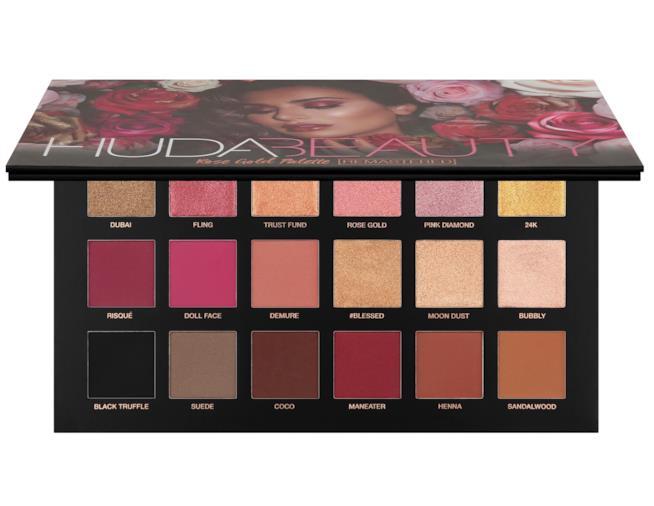 La nuova palette ombretti di Huda Beauty