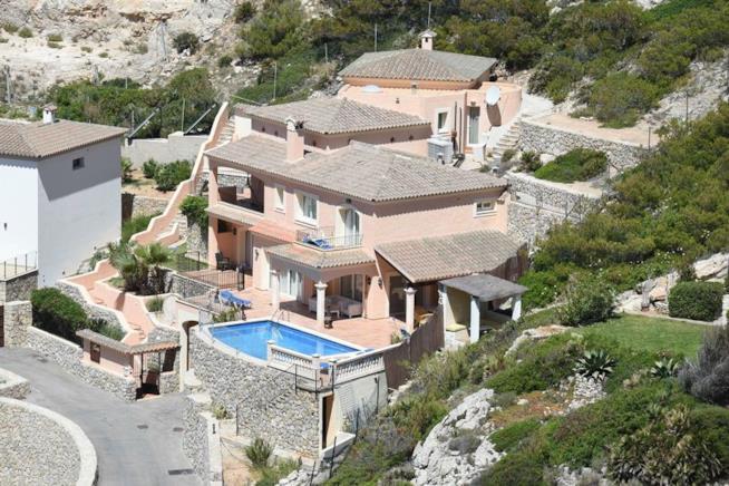 La villa di Brad Pitt e Angelina Jolie a Maiorca