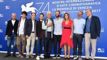 Il cast di Suburra a Venezia 74