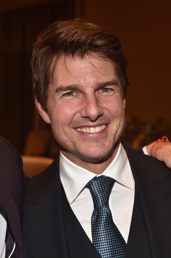 Tom Cruise in primo piano